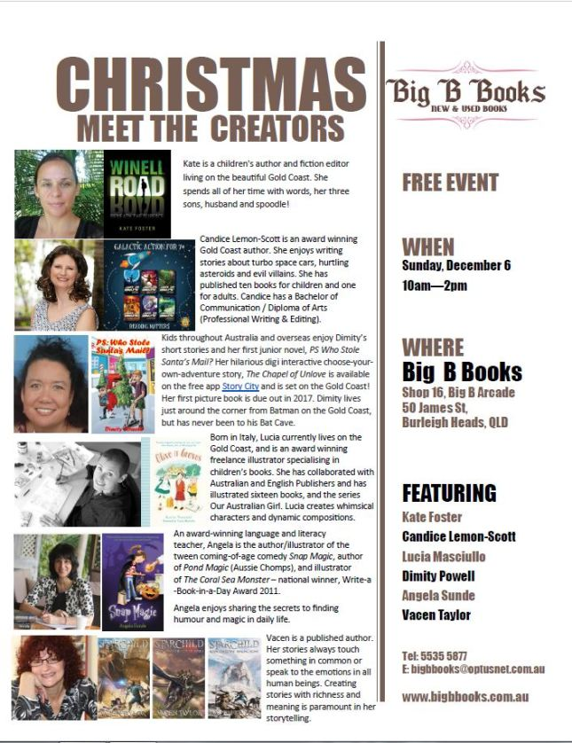 Big B Books Meet the Creators